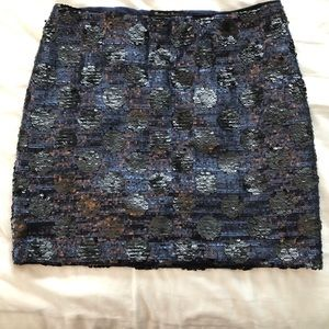 Broadway and Broome sequin skirt